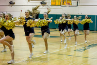 7853 Cheer and Black-Out at BBall v Granite Falls 120214