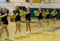 7855 Cheer and Black-Out at BBall v Granite Falls 120214