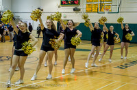 7856 Cheer and Black-Out at BBall v Granite Falls 120214