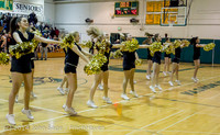 7873 Cheer and Black-Out at BBall v Granite Falls 120214