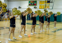 7879 Cheer and Black-Out at BBall v Granite Falls 120214