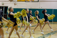 7886 Cheer and Black-Out at BBall v Granite Falls 120214