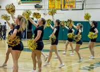7890 Cheer and Black-Out at BBall v Granite Falls 120214