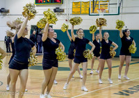 7894 Cheer and Black-Out at BBall v Granite Falls 120214