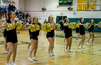 7900 Cheer and Black-Out at BBall v Granite Falls 120214