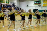 7902 Cheer and Black-Out at BBall v Granite Falls 120214