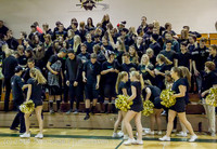 7909 Cheer and Black-Out at BBall v Granite Falls 120214