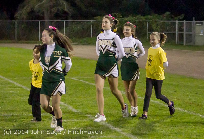 0658 Fall Cheer and Pirate Pals at Football v CWA 101014