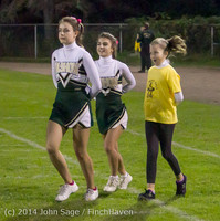 0659 Fall Cheer and Pirate Pals at Football v CWA 101014