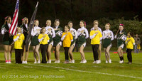 0670 Fall Cheer and Pirate Pals at Football v CWA 101014