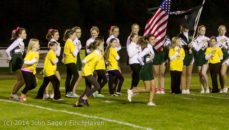 0675 Fall Cheer and Pirate Pals at Football v CWA 101014