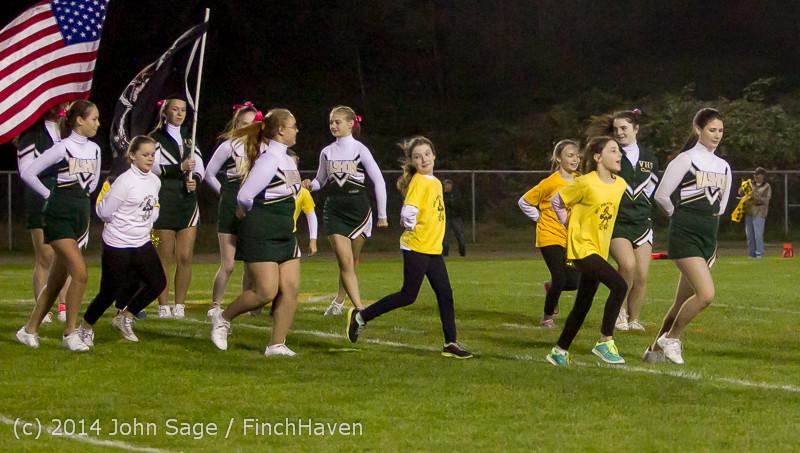 0681 Fall Cheer and Pirate Pals at Football v CWA 101014