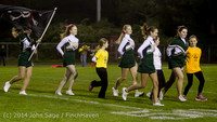 0685 Fall Cheer and Pirate Pals at Football v CWA 101014