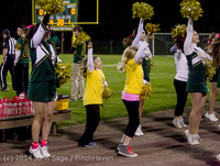 0847 Fall Cheer and Pirate Pals at Football v CWA 101014