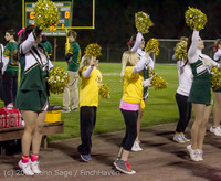 0849 Fall Cheer and Pirate Pals at Football v CWA 101014