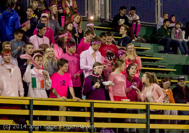 0866 Pink-Out at Football v CWA 101014