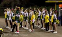 1015 Fall Cheer and Pirate Pals at Football v CWA 101014