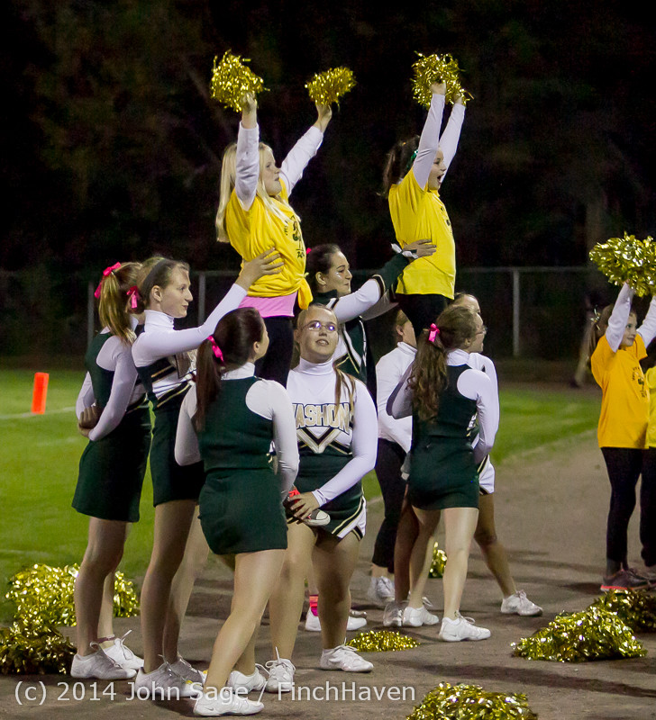 1071 Fall Cheer and Pirate Pals at Football v CWA 101014