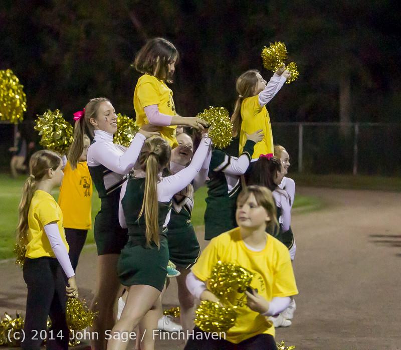 1089 Fall Cheer and Pirate Pals at Football v CWA 101014