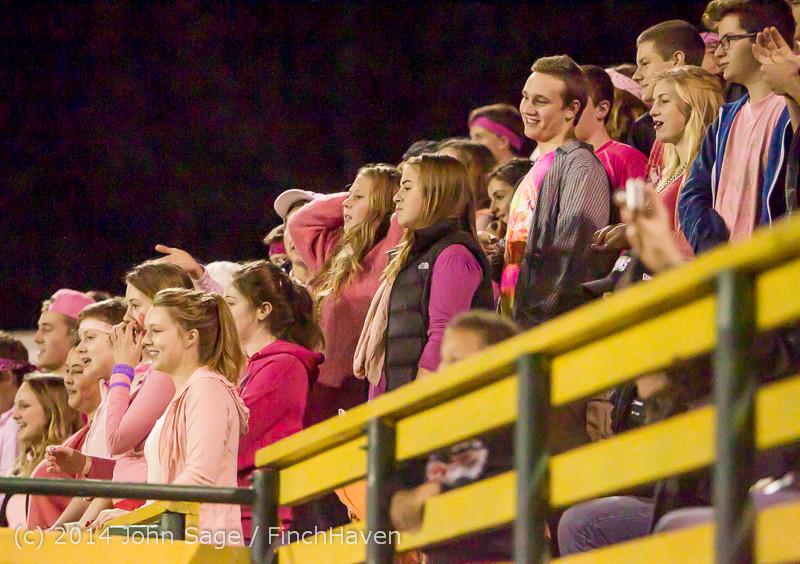 1206 Pink-Out at Football v CWA 101014