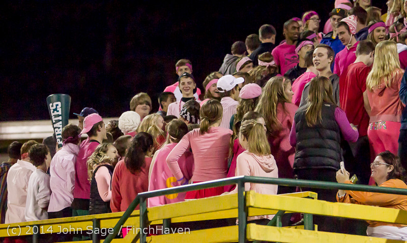 1211 Pink-Out at Football v CWA 101014