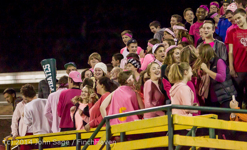 1216 Pink-Out at Football v CWA 101014