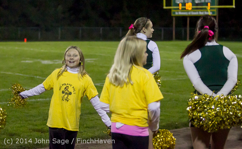 1232 Fall Cheer and Pirate Pals at Football v CWA 101014