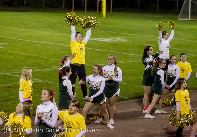 1403 Fall Cheer and Pirate Pals at Football v CWA 101014