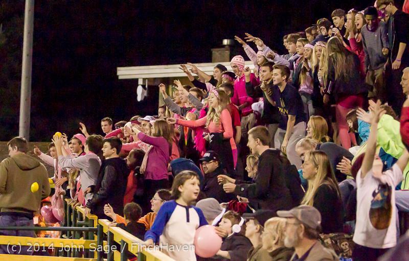 1450 Pink-Out at Football v CWA 101014