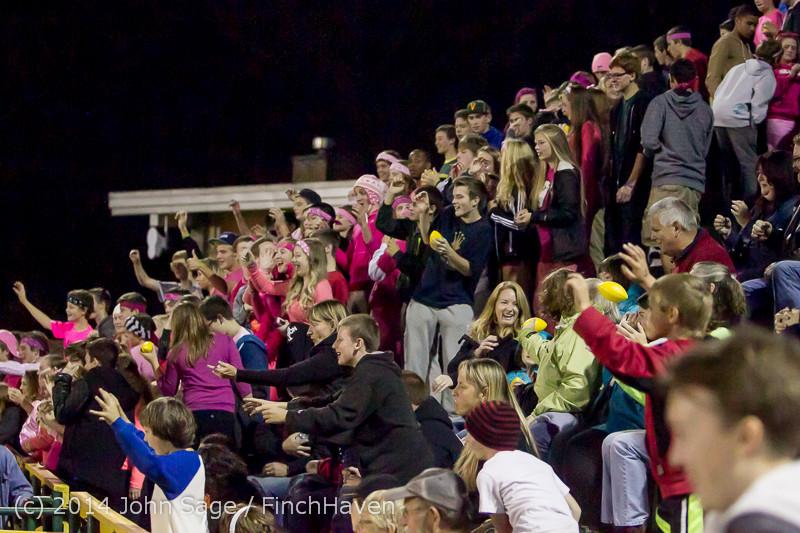 1473 Pink-Out at Football v CWA 101014