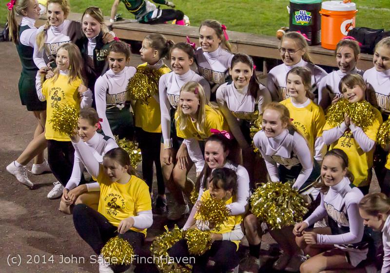 1640 Fall Cheer and Pirate Pals at Football v CWA 101014