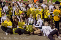 1692 Fall Cheer and Pirate Pals at Football v CWA 101014