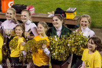 1715 Fall Cheer and Pirate Pals at Football v CWA 101014