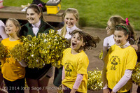 1716 Fall Cheer and Pirate Pals at Football v CWA 101014
