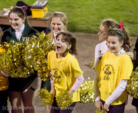 1718 Fall Cheer and Pirate Pals at Football v CWA 101014