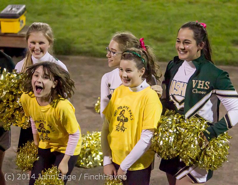 1720 Fall Cheer and Pirate Pals at Football v CWA 101014