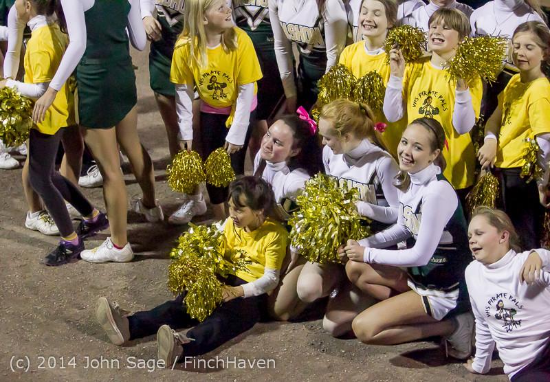 1729 Fall Cheer and Pirate Pals at Football v CWA 101014