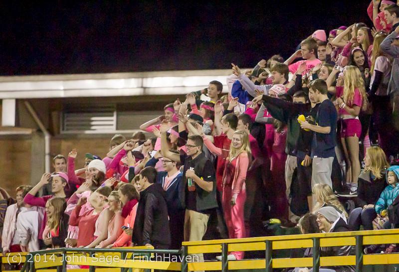 1863 Pink-Out at Football v CWA 101014
