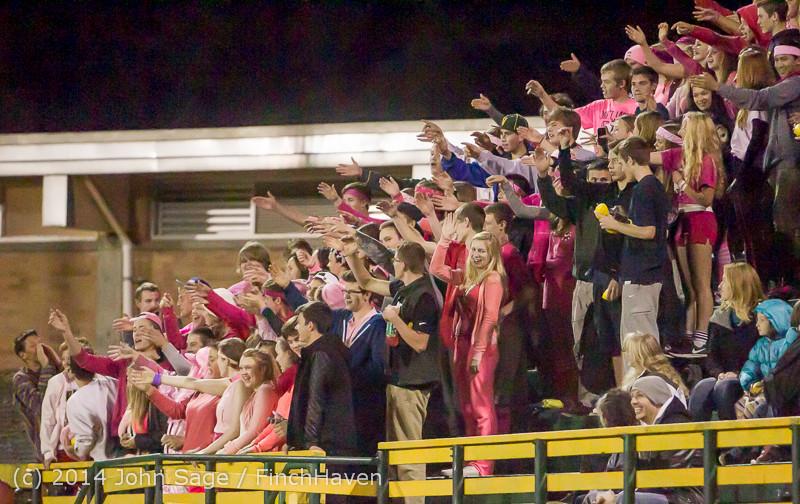1867 Pink-Out at Football v CWA 101014