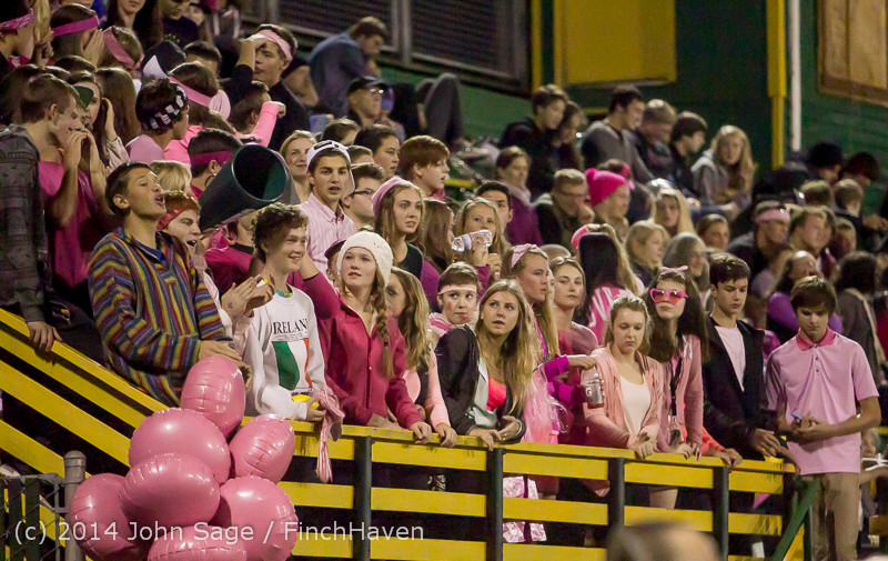 2228 Pink-Out at Football v CWA 101014