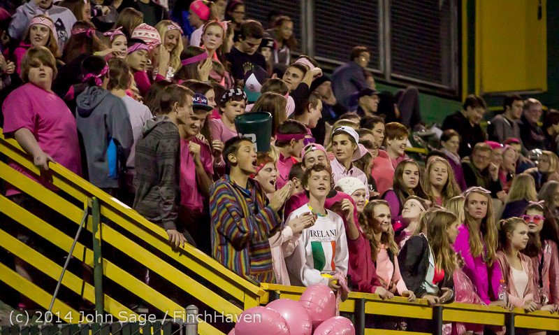 2236 Pink-Out at Football v CWA 101014