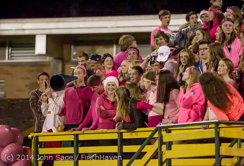 2403 Pink-Out at Football v CWA 101014