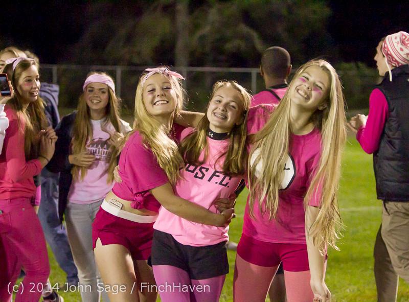2833 Pink-Out at Football v CWA 101014