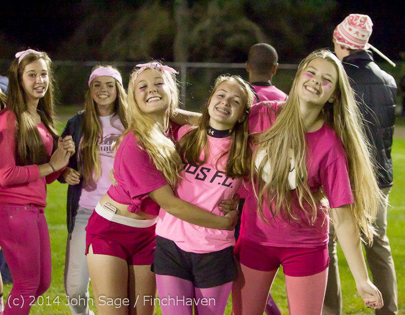 2836 Pink-Out at Football v CWA 101014