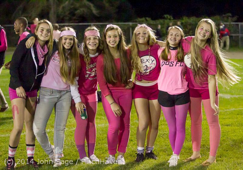 2851 Pink-Out at Football v CWA 101014