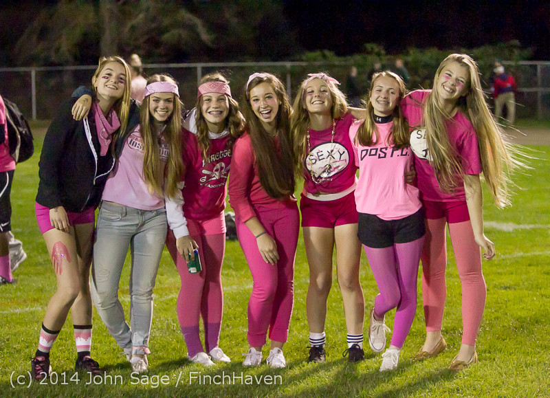 2856 Pink-Out at Football v CWA 101014