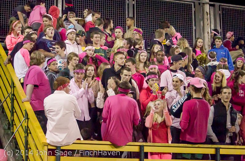 3033 Pink-Out at Football v CWA 101014