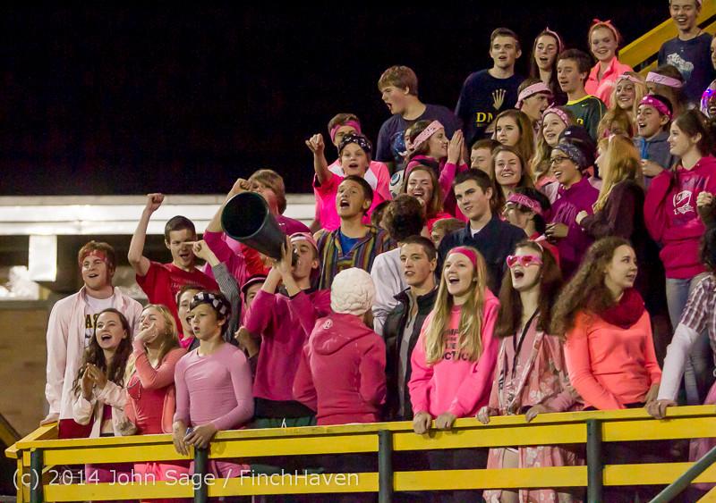 3926 Pink-Out at Football v CWA 101014