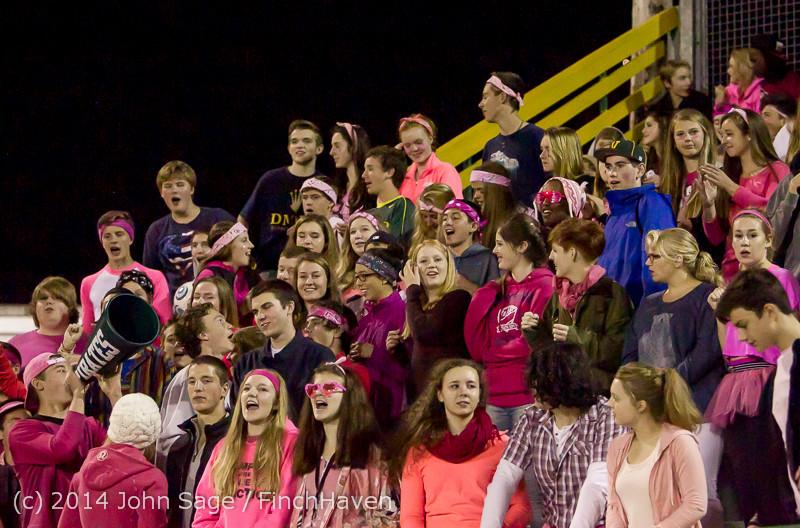 3927 Pink-Out at Football v CWA 101014