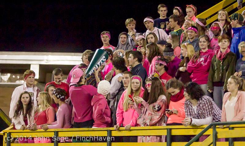 3951 Pink-Out at Football v CWA 101014